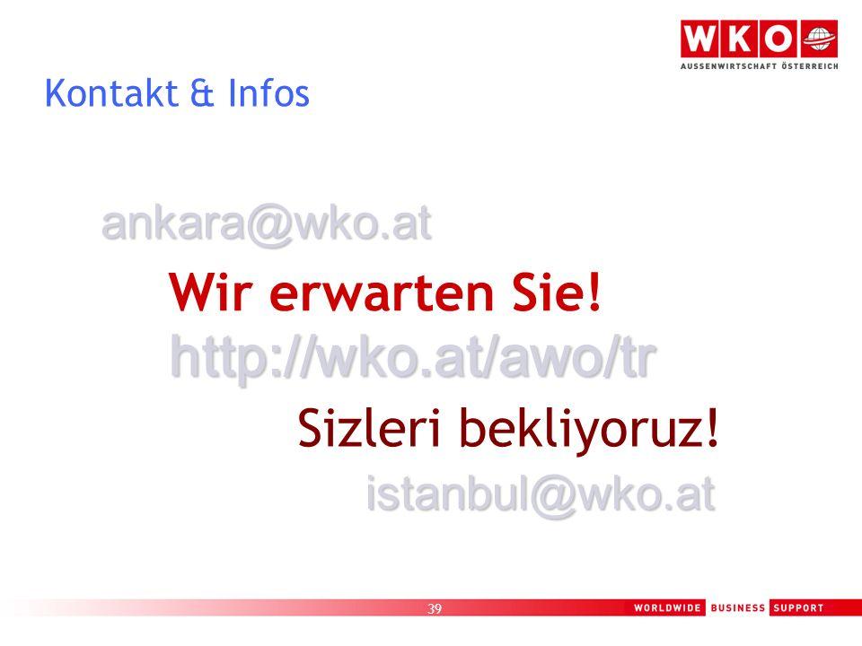 http://wko.at/awo/tr Wir erwarten Sie! Sizleri bekliyoruz!