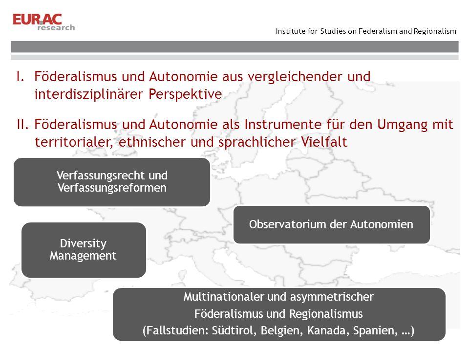 Verfassungsrecht und Verfassungsreformen