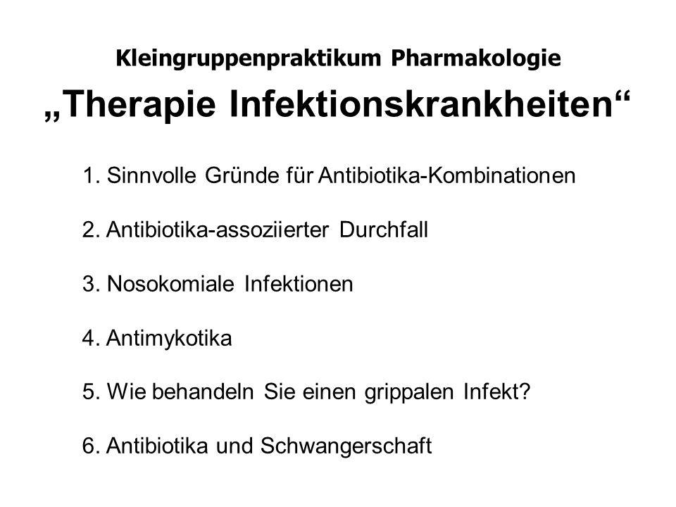 Kleingruppenpraktikum Pharmakologie