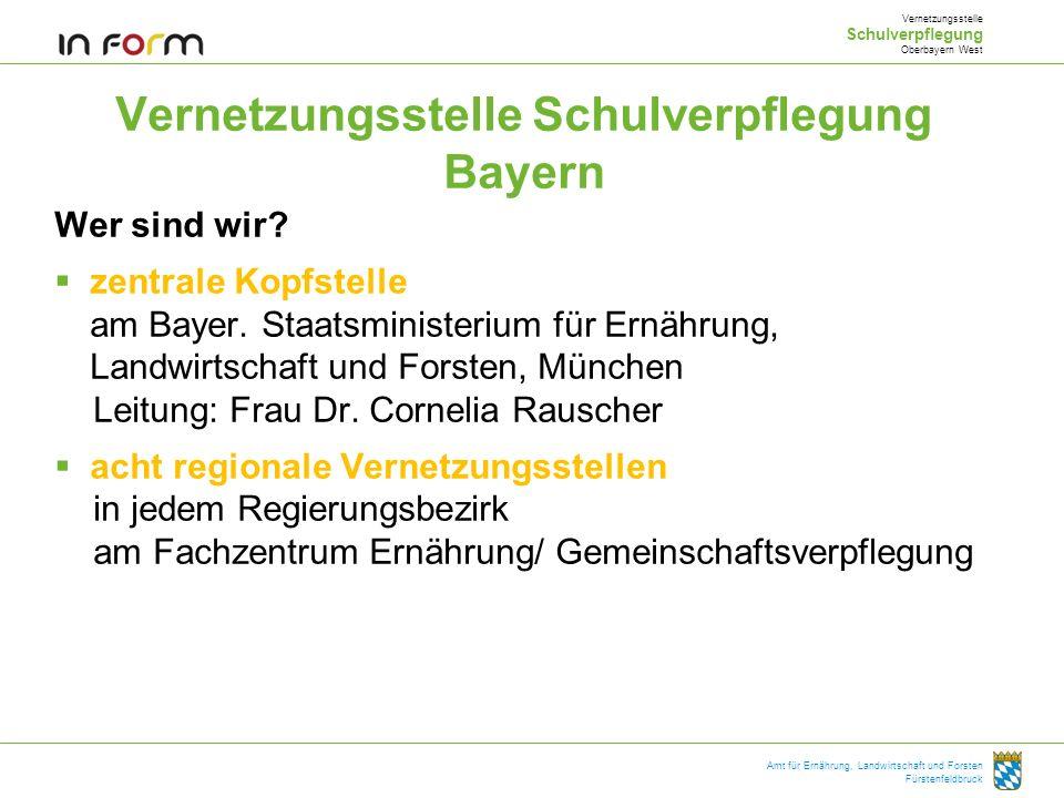 Vernetzungsstelle Schulverpflegung Bayern