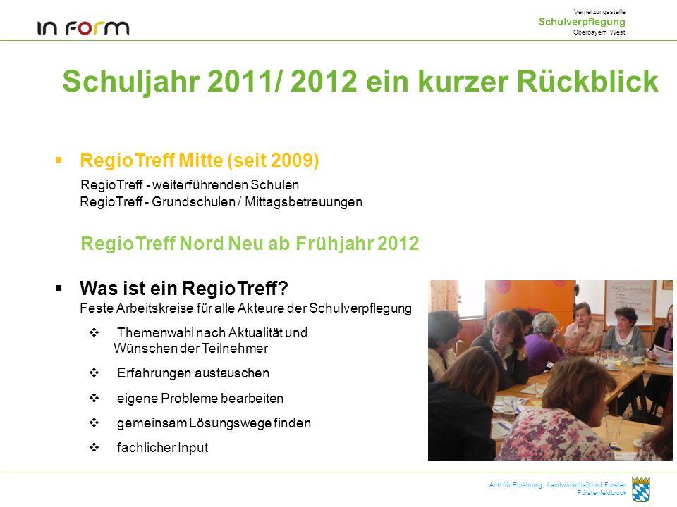 Schuljahr 2011/ 2012 ein kurzer Rückblick