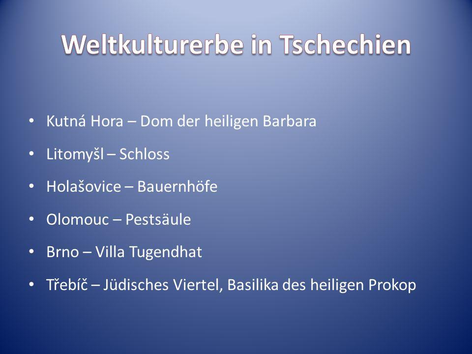 Weltkulturerbe in Tschechien