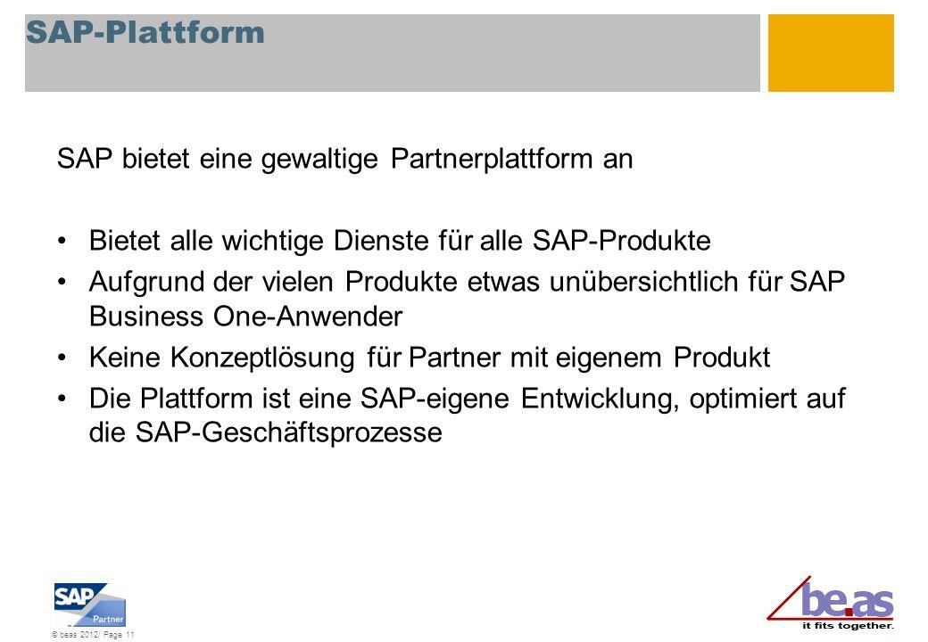 SAP-Plattform SAP bietet eine gewaltige Partnerplattform an