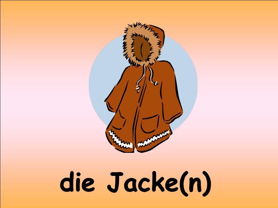 die Jacke(n)
