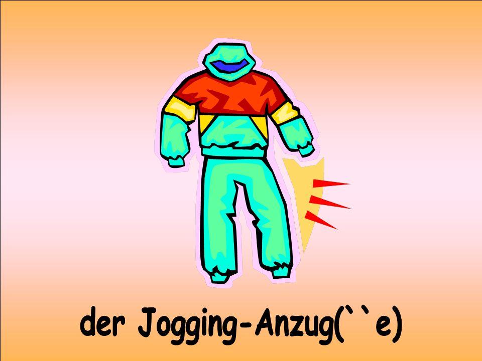 der Jogging-Anzug(``e)