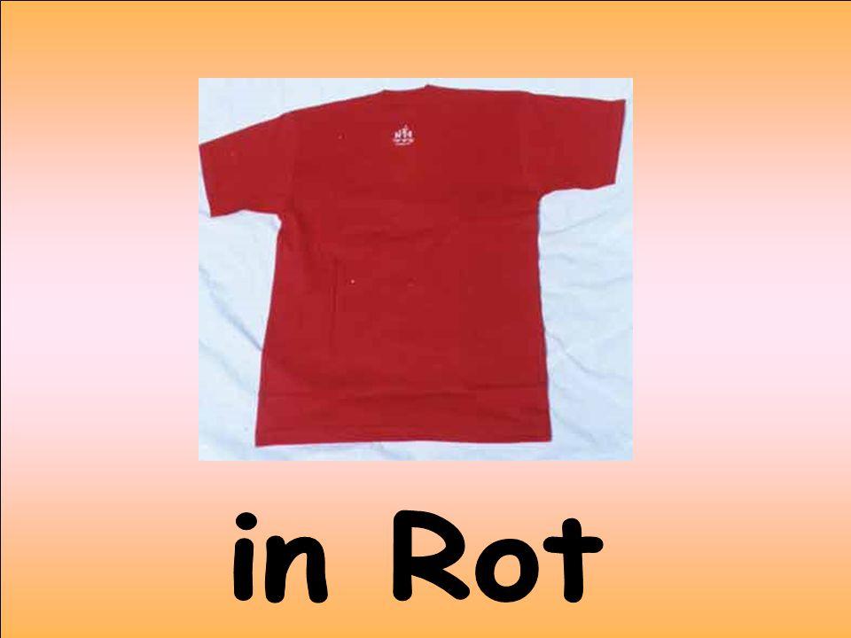 in Rot