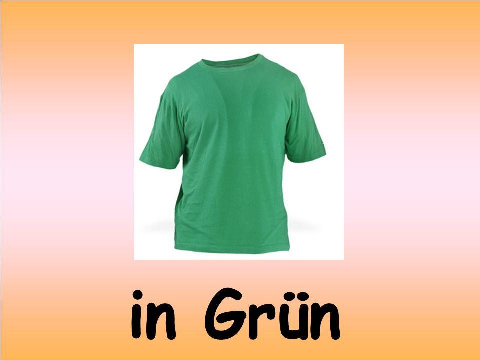 in Grün