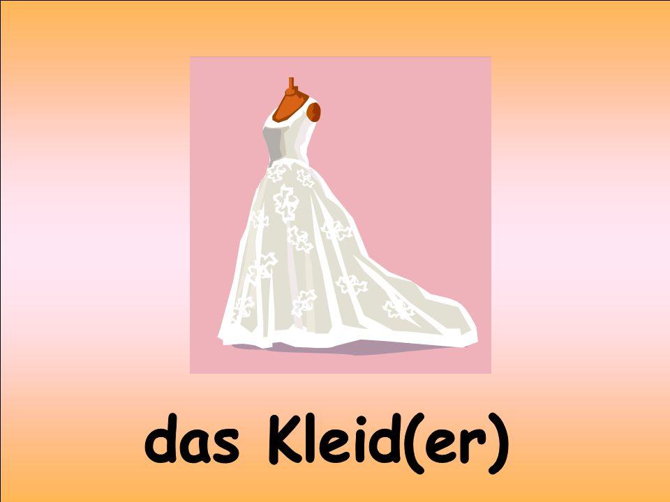 das Kleid(er)
