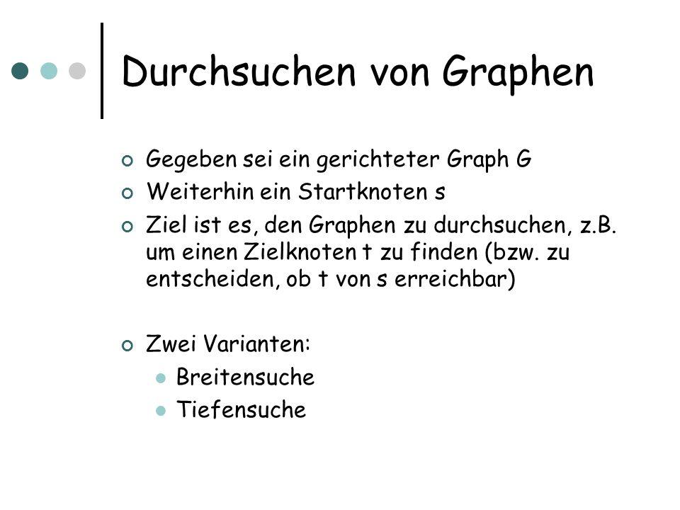 Durchsuchen von Graphen