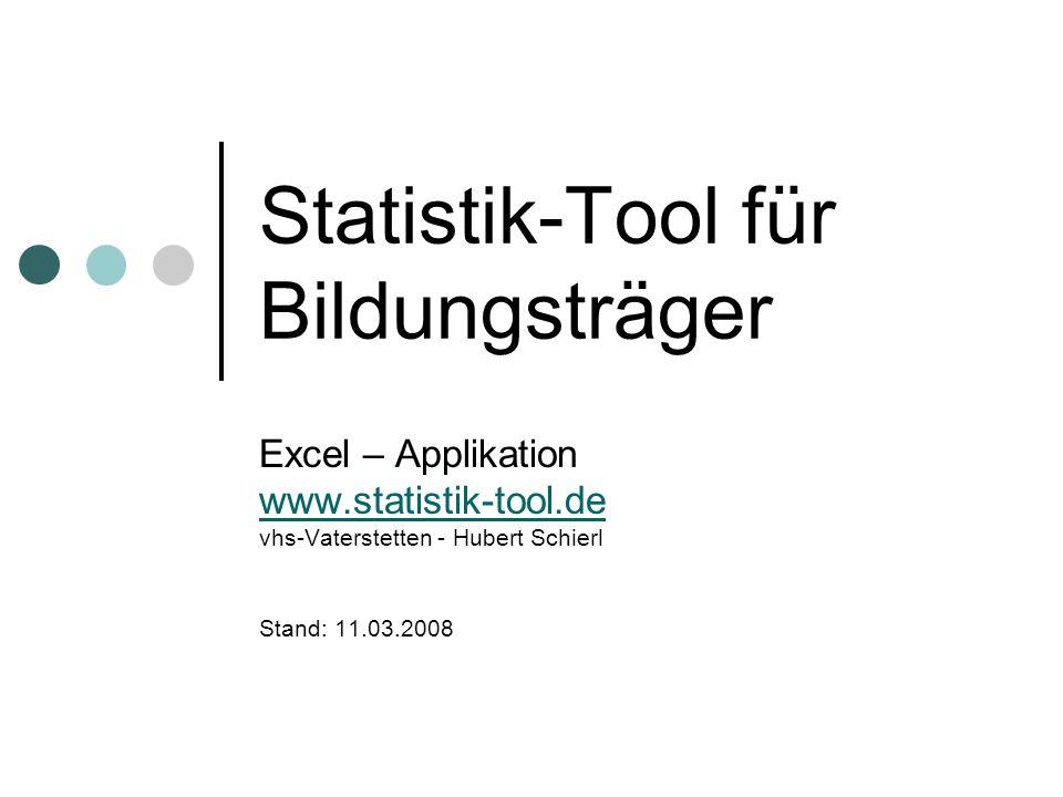 Statistik-Tool für Bildungsträger