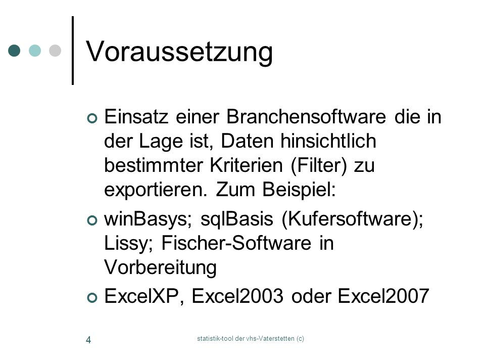 statistik-tool der vhs-Vaterstetten (c)