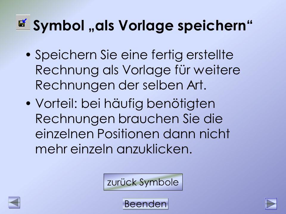"""Symbol """"als Vorlage speichern"""