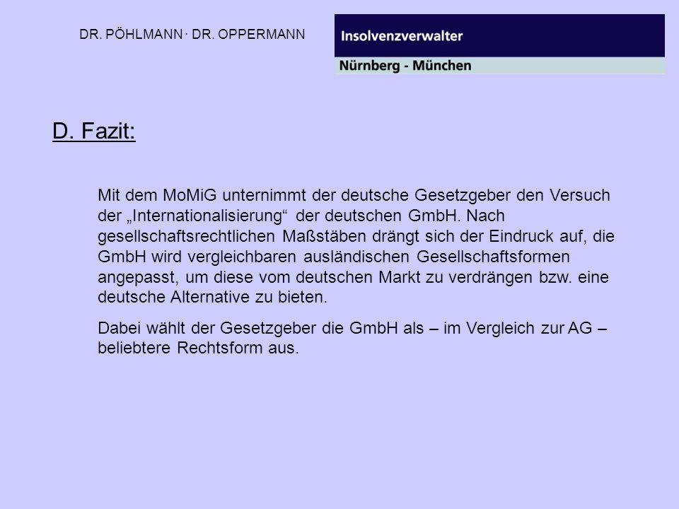 DR. PÖHLMANN · DR. OPPERMANN