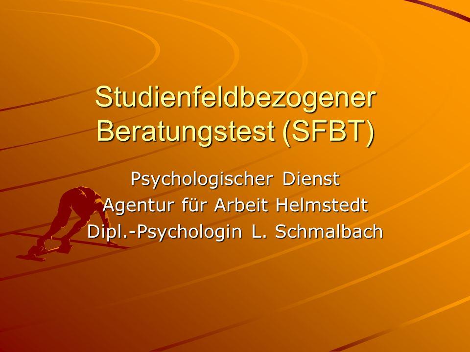 Studienfeldbezogener Beratungstest (SFBT)