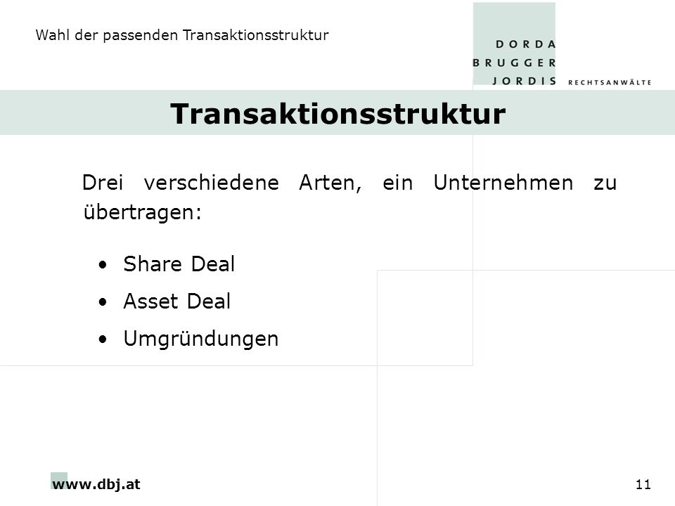 Transaktionsstruktur