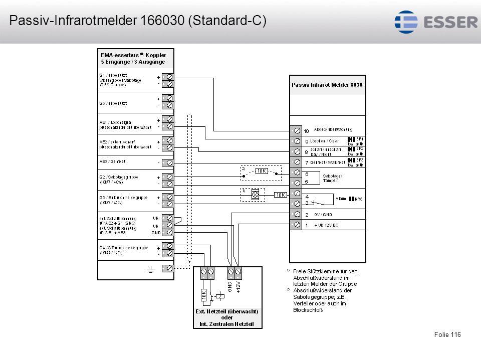 Passiv-Infrarotmelder 166030 (Standard-C)