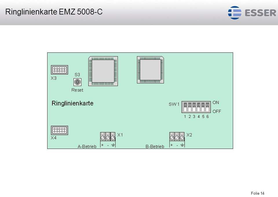 Ringlinienkarte EMZ 5008-C
