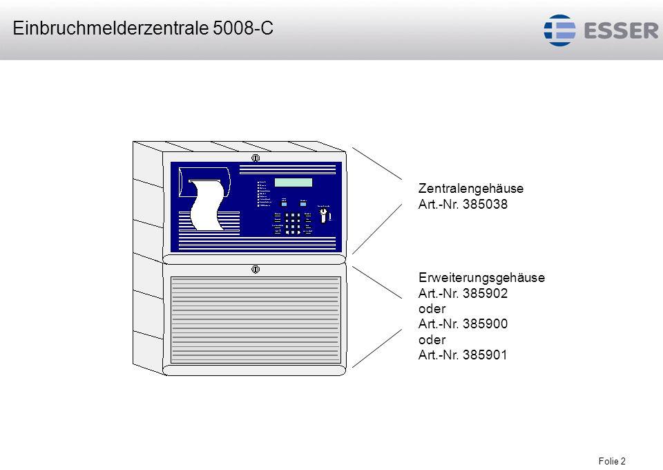 Einbruchmelderzentrale 5008-C