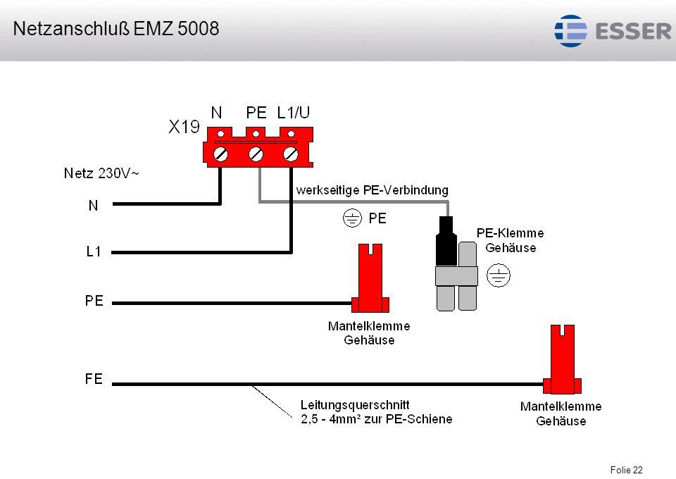 Netzanschluß EMZ 5008