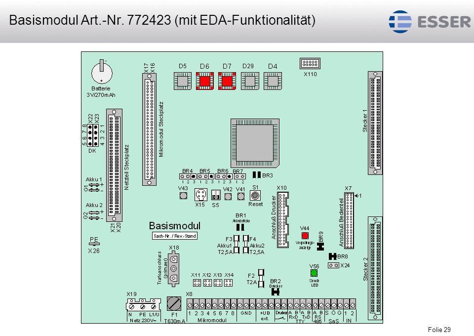Basismodul Art.-Nr. 772423 (mit EDA-Funktionalität)