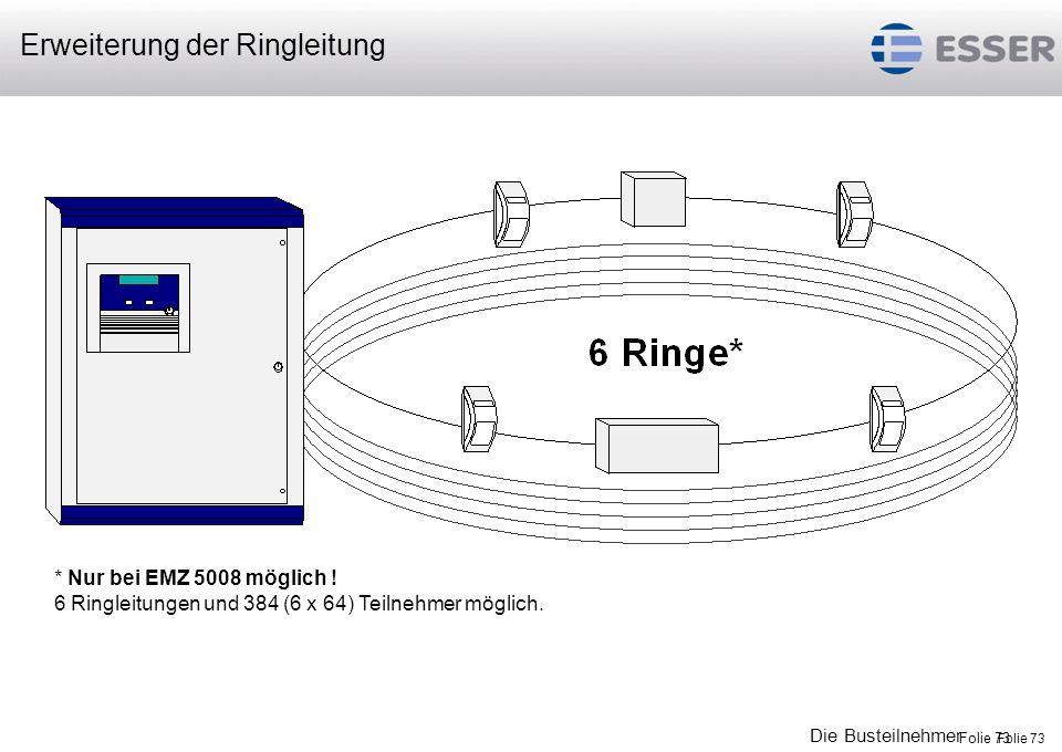 Erweiterung der Ringleitung