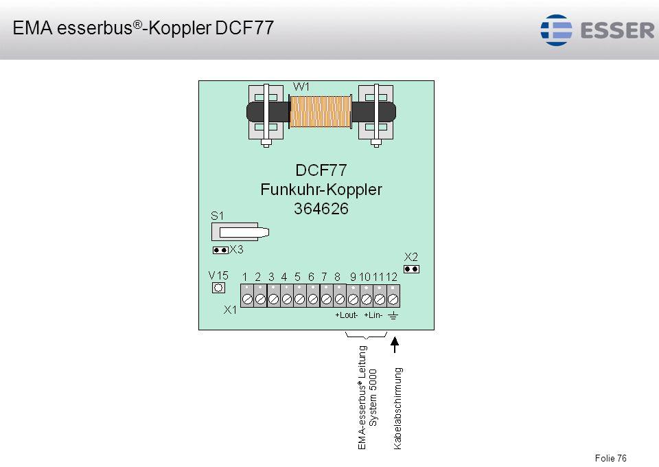 EMA esserbus®-Koppler DCF77
