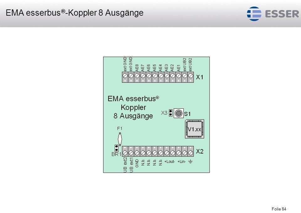 EMA esserbus-Koppler 8 Ausgänge