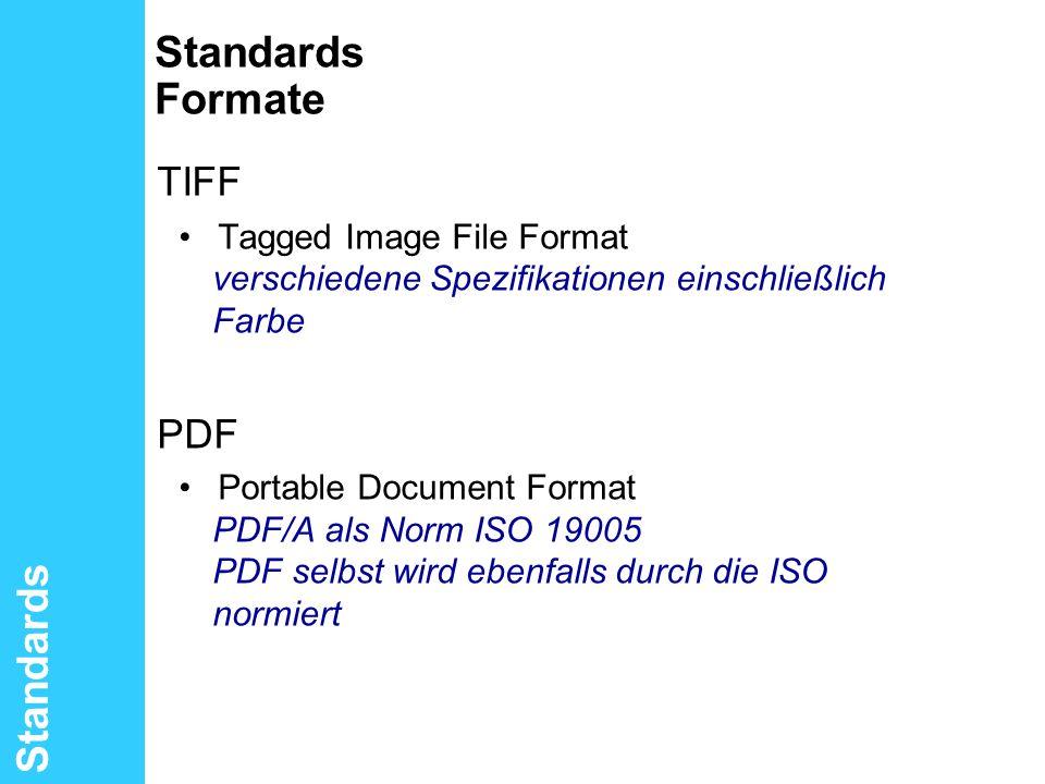 TIFF Standards Formate Standards PDF
