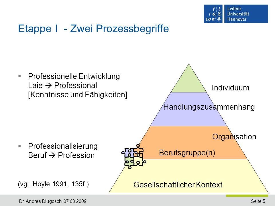 Etappe I - Zwei Prozessbegriffe