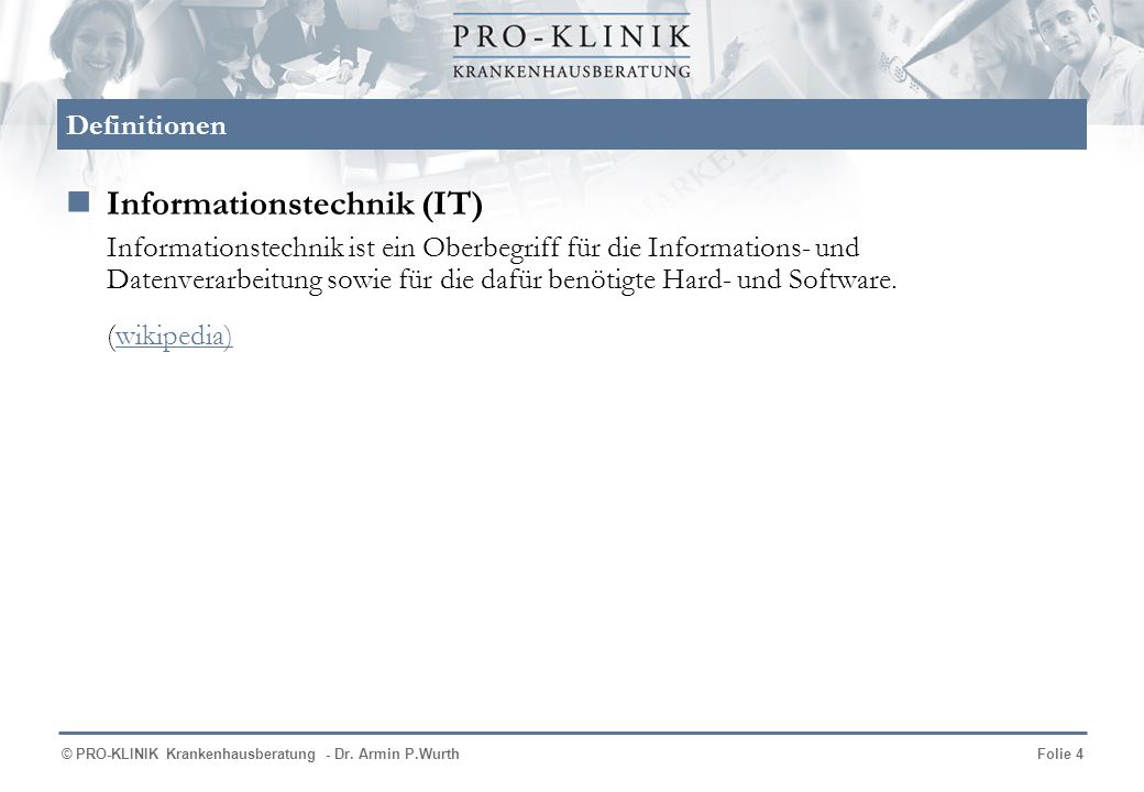 Informationstechnik (IT)