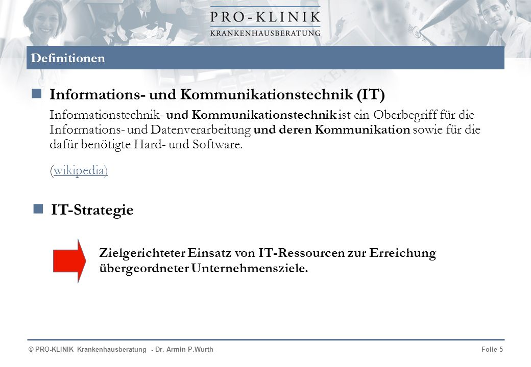 Informations- und Kommunikationstechnik (IT)