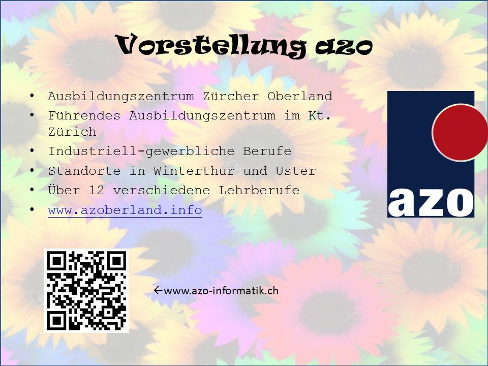 Vorstellung azo Ausbildungszentrum Zürcher Oberland