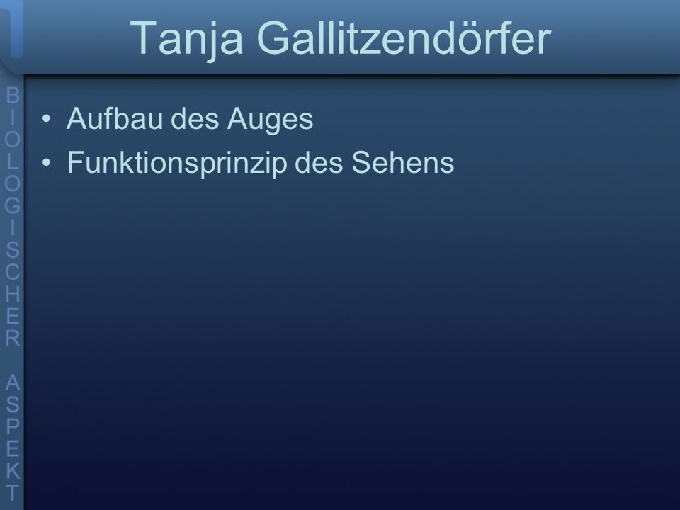 Tanja Gallitzendörfer