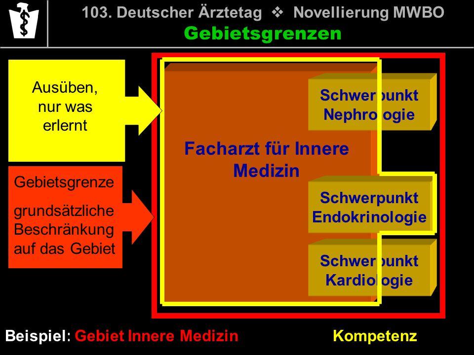 103. Deutscher Ärztetag v Novellierung MWBO