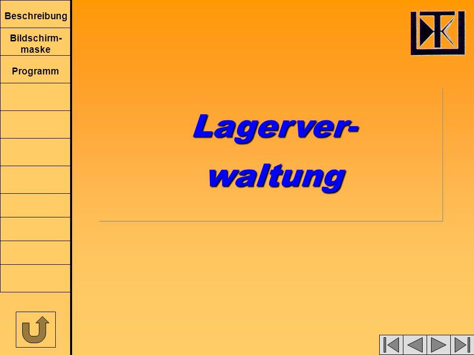 Lagerver- waltung