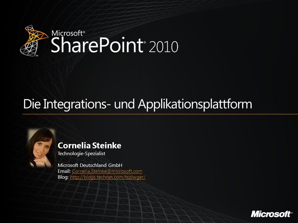 Die Integrations- und Applikationsplattform