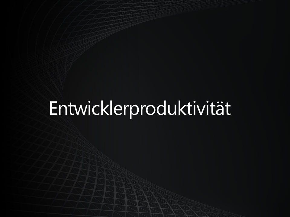 Entwicklerproduktivität
