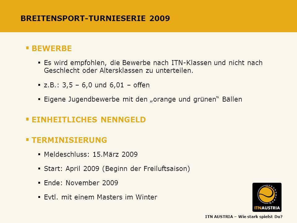 BREITENSPORT-TURNIESERIE 2009