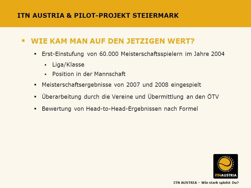 ITN AUSTRIA & PILOT-PROJEKT STEIERMARK
