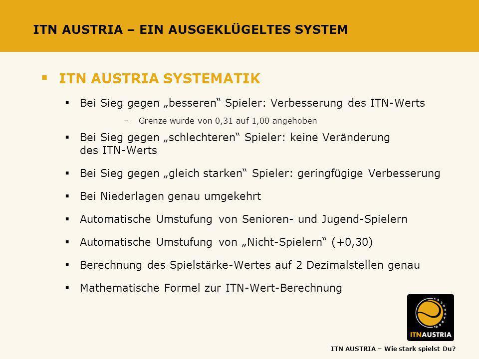 ITN AUSTRIA – EIN AUSGEKLÜGELTES SYSTEM