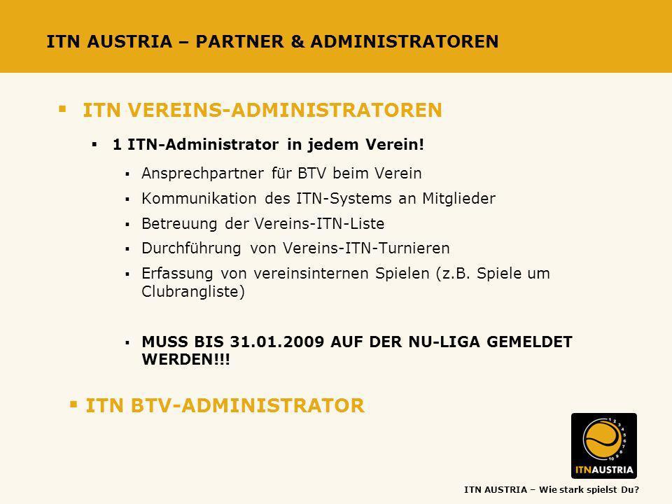 ITN AUSTRIA – PARTNER & ADMINISTRATOREN