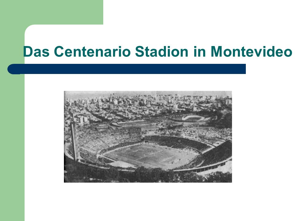 Das Centenario Stadion in Montevideo
