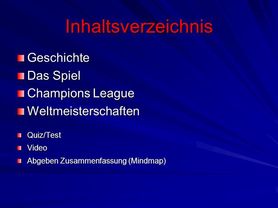 Inhaltsverzeichnis Geschichte Das Spiel Champions League