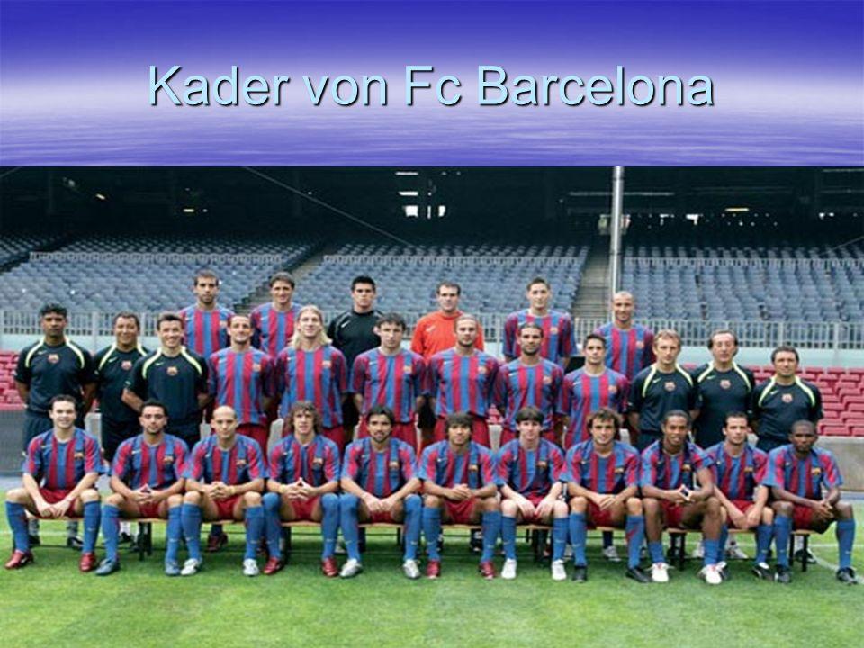 Kader von Fc Barcelona
