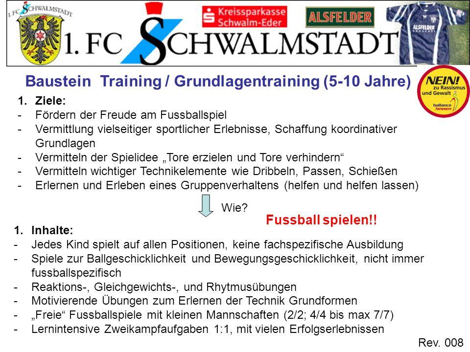 Baustein Training / Grundlagentraining (5-10 Jahre)