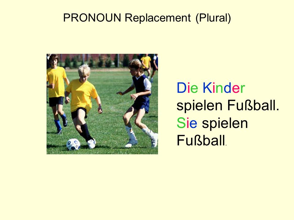 PRONOUN Replacement (Plural)