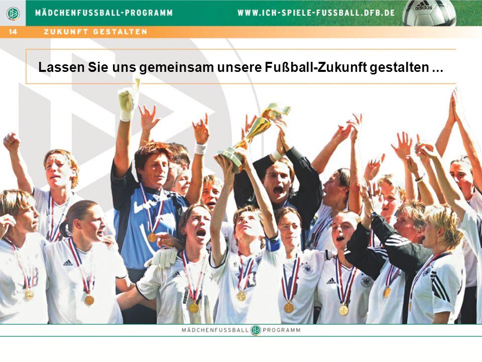Lassen Sie uns gemeinsam unsere Fußball-Zukunft gestalten ...