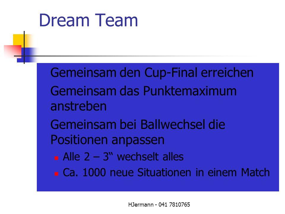 Dream Team Gemeinsam den Cup-Final erreichen