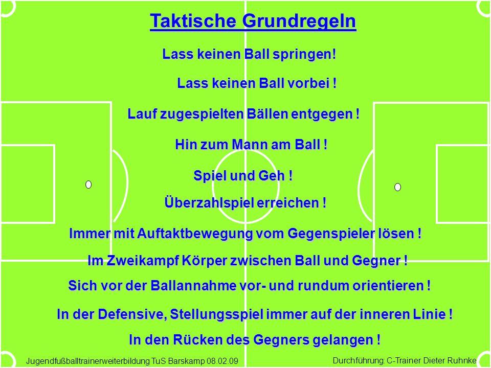 Jugendfußballtrainerweiterbildung des TuS Barskamp am 08.02.09