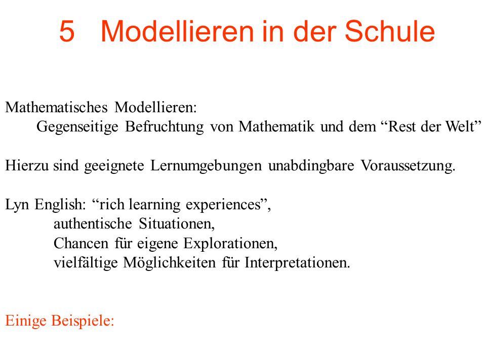 5 Modellieren in der Schule